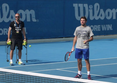 1.Clinic with Stan Wawrinka, Abu Dhabi 2014