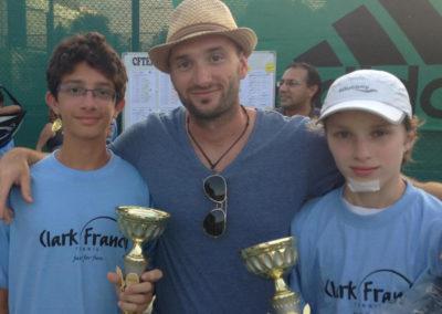 10.Zen Manwani and Miro Matagne, finalists of U14 Dubai tournament in 2013