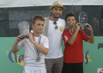 11. Carlos Thireau and Miguel Nau, finalists of U12 tournament in Dubai in 2012