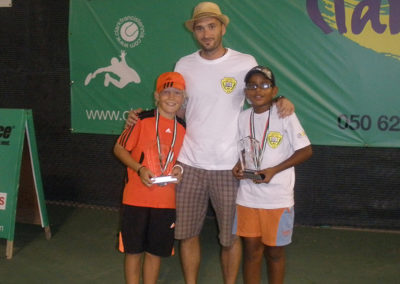 12.Niklas Korjonen and Anurag Reddy, finalist of U10 tournament in Dubai 2012.