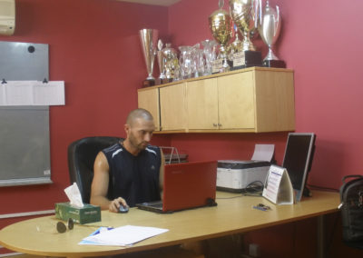 14. Office work as Al Wasl clubs head coach in 2012_13