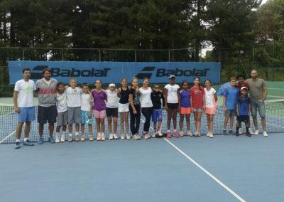 Camp in Belgrades Trim academy in 2015
