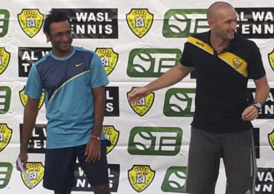 19. With Omar Behroozian, best tennis player in UEA history, Dubai 2013