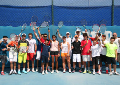 2.High performance day with UAE top juniors 2015