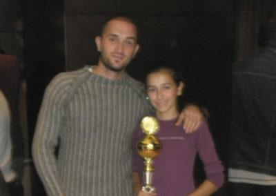 3.Lukic Jelena, Belgrade U12 Champion in 2008