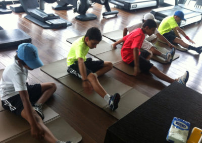30.Fitness in Novak academy 2013
