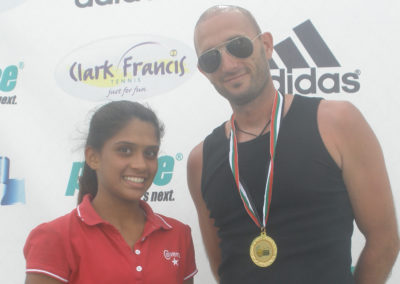 31. Simran Noronha U18 tournament winner in 2012