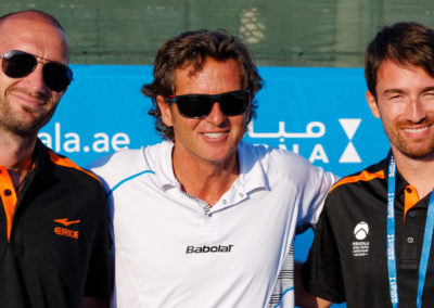 4.With Nadals coach Francisco Roig in 2014