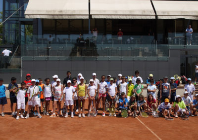 5.International camp in Novak Djokovic academy in 2013