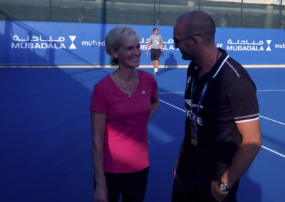 6.With Judy Murray in 2015