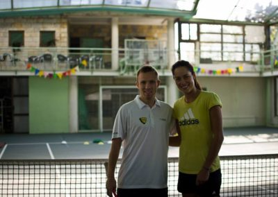 39. Filip Spasojevic on hitting session with Ana Ivanovic
