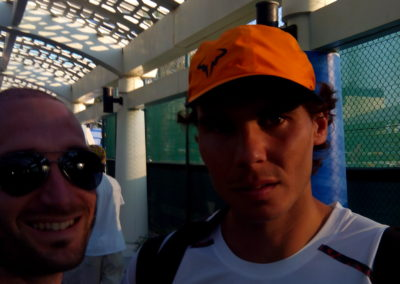 41. With Rafael Nadal in Mubadala 2015